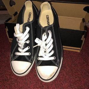 Gently used low cut Chuck Taylor's